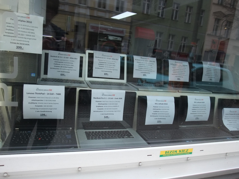 Gebrauchte Apple Macbook – in Berlin Kaufen